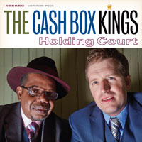 Cash Box Kings band at the Midway Tavern
